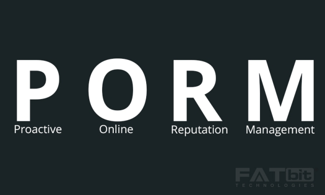 PORM - Proactive Online Reputation Management