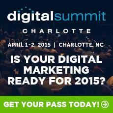 Digital Summit Charlotte(April 01, 2015 - April 02, 2015)
