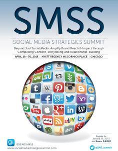 Social Media Strategy Summit (April 28, 2015 - April 30, 2015)