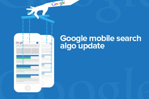 Google mobile search algorithm update