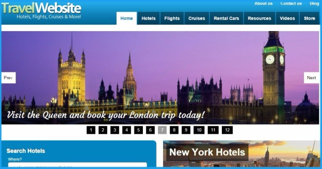 Money Making Business - Online Travel Booking Website
