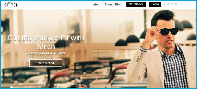 Online Custom Tailor Store