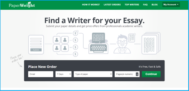 Online Market Place for Freelance Writer