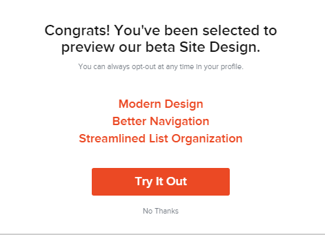 preview the beta design