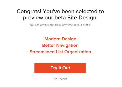 preview the beta design