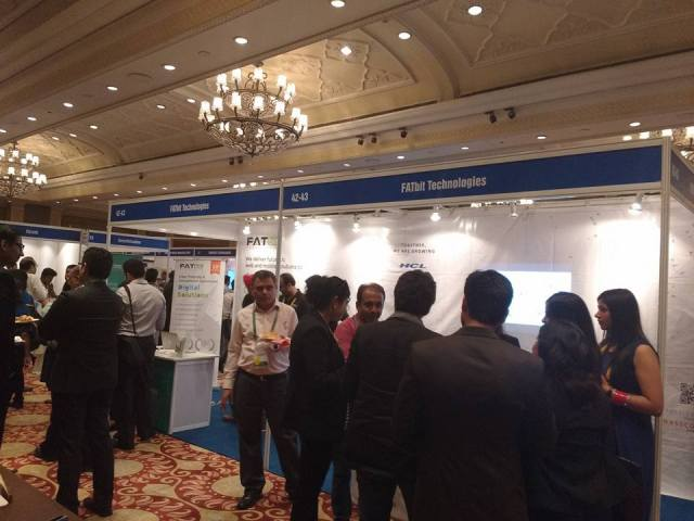 TiECon Delhi 2015 starts with much fanfare with FATbit as a participant