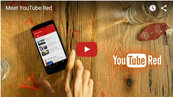 What Is YouTube Red? Do People Need this new subscription service?