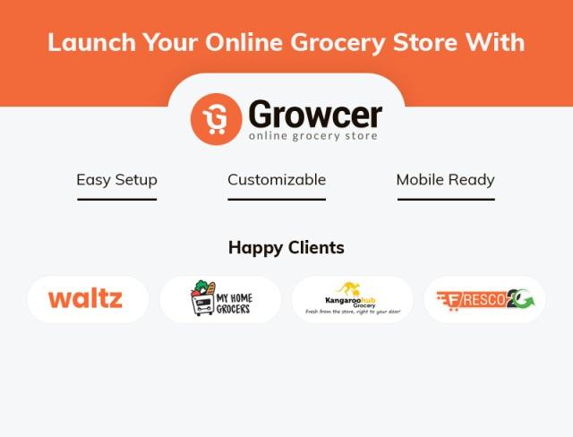 growcer ecommerce platform